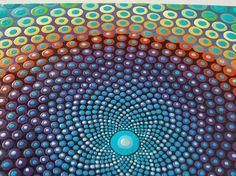 Pintura arte por Kaila lanza 10 x 10 de punto