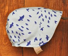 I'll Fly Away Reversible Baby Sun Hat in Linen and Cotton on Etsy, $26.00