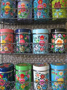 The Forest & Co 12 Kashmiri Spice Tins