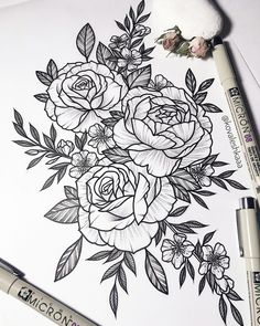 this floral tattoo was made by Victoria Kovalenko, amazingly talented tattoo artist. Tattoo Girls, Girls With Sleeve Tattoos, Girl Tattoos, Piercing Tattoo, Arm Tattoo, Tattoo Art, Tattoo Quotes, Realism Tattoo, Piercings