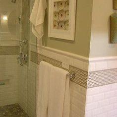 Tile Subway Tile Showers And Shower Stalls On Pinterest