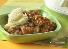 Crockpot Apple Crisp, yummy !