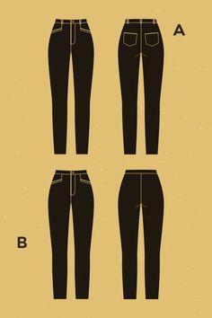 Pantalon Safran - Deer&Doe Jeans et pantalon slim taille haute. (passants de ceinture, poches arrières plaquées, poches italiennes passepoilées devant)