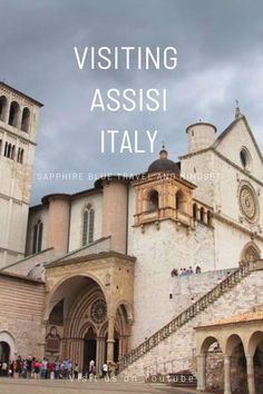 Assisi, Beautiful hilltop village in Umbria in Italy. Home to St Francis and St Clare. Such a lovely place to explore! St Clare's, In Plan, European Destination, St Francis, Day Trip, Florence, Travel Photos, Italy, Explore