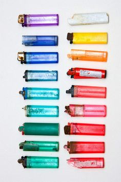 took me a while to realise they are lighters!