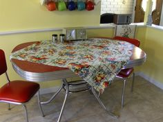 Red Formica Table | Flickr - Photo Sharing!