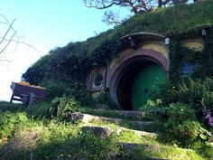 Hobbiton - The Green Door