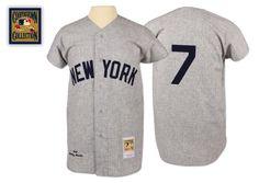 Mickey Mantle 1961 Authentic Jersey New York Yankees Mitchell   Ness  Nostalgia Co. New York abb7cb09c