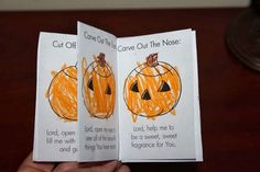 Half-a-Hundred Acre Wood: Traditions: The Pumpkin Prayer