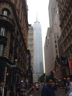 Ao fundo a torre nova do WTC vista pelo Soho.