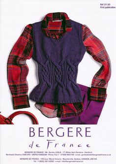 Sleeveless Sweater in Bergere de France Baronval (311.93) | Deramores