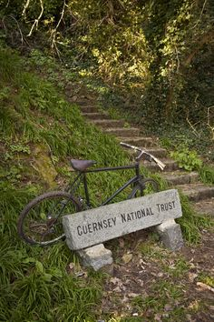 The Guernsey National Trust walking path.