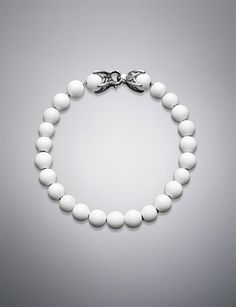 David Yurman | Men | Bracelets: Spiritual Bead Bracelet, White Agate, 8mm: