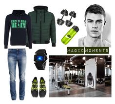 """""""Sport man"""" by sweetest-thing on Polyvore featuring мода"""