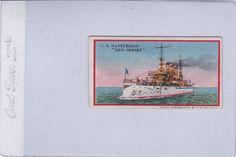 1910 E3 AMERICAN CARAMEL US NAVY BATTLESHIPS - NEW JERSEY -ex