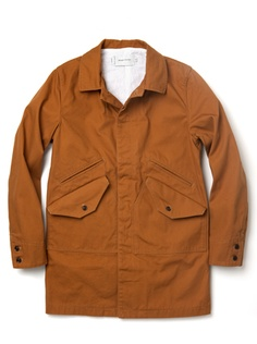 burnt orange jacket by Wings and Horns