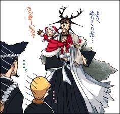 santa? lol Kenpachi