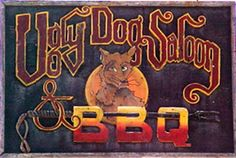 Ugly Dog Saloon & BBQ.  Two blocks from the WW II Museum..