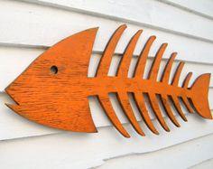 Folk Whale Art Coastal Decor Rustic Whale Wooden by HavenAmerica