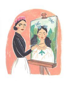 Inspiring Ladies - personal project - Emma Block Illustration