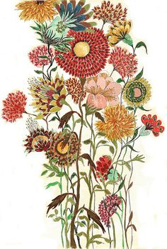 Botanical - My tattoo artist used this as an inspiration for my back piece.