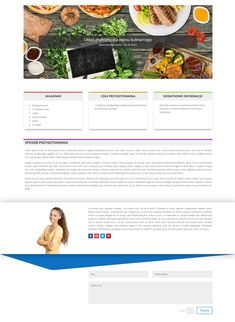 #webdesign #elegantthemes #divi #onepostlayout #layout #canaq #cooking