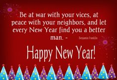 Share this on WhatsAppA New Year always bring on life-changing decisions. It is a major event in many people's lives for it gives them a [. Quotes About New Year, Year Quotes, New Year Resolution Quotes, New Year Wishes, Benjamin Franklin, Life Changing, A Good Man, Happy New Year, Finding Yourself