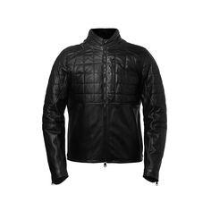 Aether men's eclipse motorcycle jacket black
