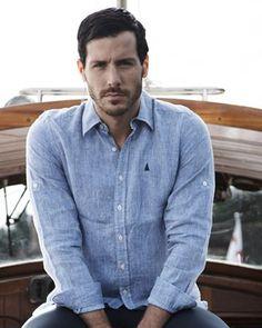 McNamara Linen Roll Up Shirt, £65