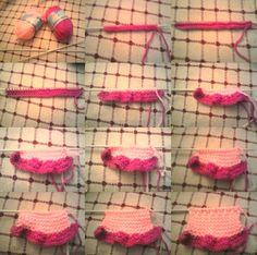 Mini-falda de Nenuco Paso a Paso    Para qué lo tengáis en Cuenta, Tengo Que Decir Que Las Medidas Que pongo Son con Los Materiales Que se...