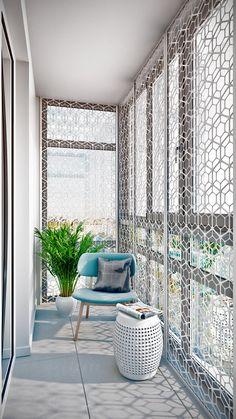 Фотография: Балкон в стиле Современный, Квартира, Проект недели, Москва, квартира холостяка, Co:Interior, новостройка – фото на InMyRoom.ru
