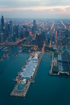 Chicago Bilder navy pier chicago aerial chicago navy and city