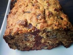 Date and Walnut Bread Cake Recipes, Dessert Recipes, Muffin Bread, Bread Cake, Meatloaf Recipes, Healthy Sweets, Sweet Bread, Banana Bread, Food To Make