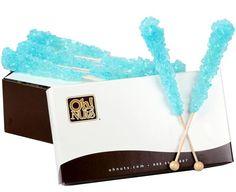Light Blue Rock Candy Crystal Sticks
