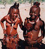 Himba people, Kaokoland Namibia