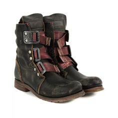 Men's Retro Buckle Hiking Boots-Black Buckle Ankle Boots, Leather Ankle Boots, Belt Buckle, Casual Heels, Casual Boots, Dress Casual, Mens Short Boots, Brogue Chelsea Boots, Mens Suede Boots
