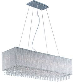 ET2 Spiral 9 Light Linear Pendant in Polished Chrome E23146-10PC   Spiral Collection: http://www.lightingnewyork.com/brand/et2-lighting.html?col=Spiral   Lighting New York