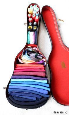 Repurposed guitar case