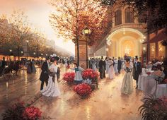 An Evening at the Theatre - 1000pc Jigsaw Puzzle by Cobble Hill