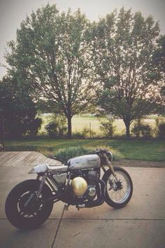 Rat Cafe Racer #motorcycles #caferacer #motos | caferacerpasion.com
