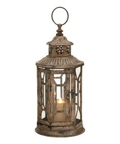 Take a look at this Geometric Lantern by UMA Enterprises on #zulily today!20