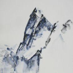 Céline Lorentz Celine, Mountains, Nature, Painting, Color, Painted Canvas, Naturaleza, Painting Art, Colour