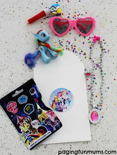 My Little Pony Party Bag idea! Some great inspiration for your next party!