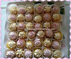 Mini Cakes Lemon and Strawberry cakes Party Tray