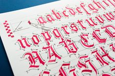 Calligraphy & Lettering Workshop (USA/EUR) on Behance