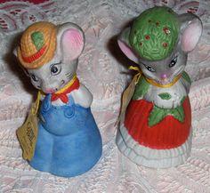 Jasco mouse figurines 1980