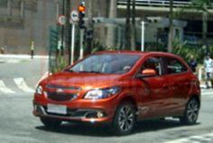 Chevrolet Onix é flagrado em sessão de  fotos por leitor