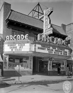Baltimore Maryland, The  Arcade Theatre: 1951