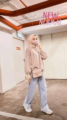 Stylish Hijab, Modest Fashion Hijab, Modern Hijab Fashion, Street Hijab Fashion, Casual Hijab Outfit, Hijab Fashion Inspiration, Muslim Fashion, Mode Inspiration, Look Fashion