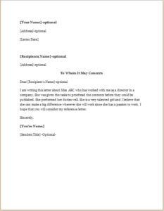 Complaint Letter about Co-worker or Colleague DOWNLOAD at http ...